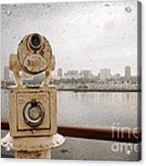 25 Cent Views Acrylic Print by Charles Dobbs