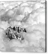 Aiguille Du Midi Acrylic Print by Ellen van Bodegom