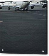 Airport Tarmac Acrylic Print by Shannon Fagan