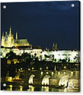 An Evening View Of The Acrylic Print by Taylor S. Kennedy