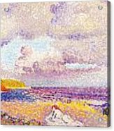 An Incoming Storm Acrylic Print by Henri-Edmond Cross