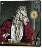Anton Van Leeuwenhoek, Dutch Acrylic Print by Science Source