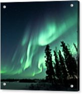 Aurora Borealis Acrylic Print by Michael Ericsson