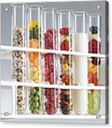 Balanced Diet Acrylic Print by Tek Image