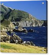 Big-sur-t1-3 Acrylic Print by Craig Lovell