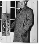 Byron Price 1891-1981 Director Of Acrylic Print by Everett