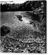 Cary Lake After The Storm Acrylic Print by David Patterson