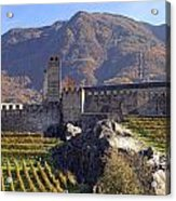 Castelgrande - Bellinzona Acrylic Print by Joana Kruse