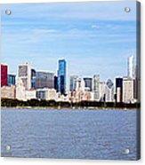 Chicago Panorama Acrylic Print by Paul Velgos