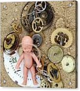 Child In Time Acrylic Print by Michal Boubin