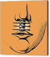 Cleft Lip Acrylic Print by Mehau Kulyk