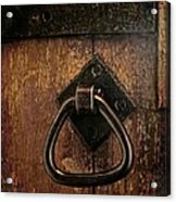 Close The Door Acrylic Print by Odd Jeppesen