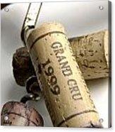 Corks Of French Wine Acrylic Print by Bernard Jaubert