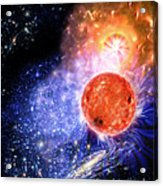 Cosmic Evolution Acrylic Print by Don Dixon
