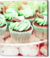 Cup Cakes Acrylic Print by Tom Gowanlock