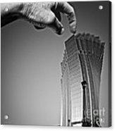 Damn Giants Acrylic Print by Gordon Wood