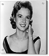 Debbie Reynolds, 1956 Acrylic Print by Everett