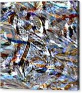 Digital Fall Acrylic Print by LeeAnn McLaneGoetz McLaneGoetzStudioLLCcom