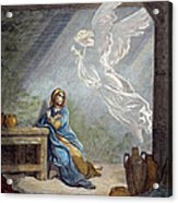 DorÉ: The Annunciation Acrylic Print by Granger