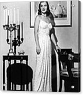 Ella Raines, 1946 Acrylic Print by Everett