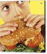 Fast Food Acrylic Print by Ian Boddy