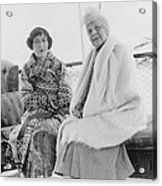 First Lady Florence Harding 1860-1924 Acrylic Print by Everett