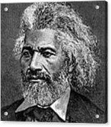 Frederick Douglass Ca. 1817-1895 Acrylic Print by Everett