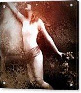 French Postcard Acrylic Print by Gun Legler