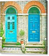 Front Doors Acrylic Print by Tom Gowanlock