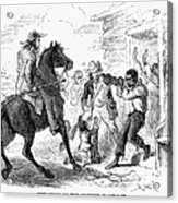 Fugitive Slave Act, 1850 Acrylic Print by Granger