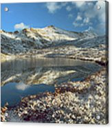 Geissler Mountain And Linkins Lake Acrylic Print by Tim Fitzharris