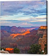 Grand Canyon Grand Sky Acrylic Print by Heidi Smith