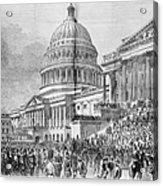 Grants Inauguration, 1873 Acrylic Print by Granger