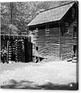 Grist Mill Acrylic Print by Regina McLeroy