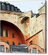 Hagia Sophia Byzantine Architecture Acrylic Print by Artur Bogacki