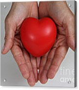 Heart Disease Prevention Acrylic Print by Photo Researchers, Inc.