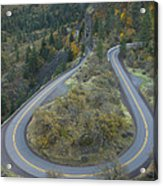 Historic Columbia River Highway Acrylic Print by Alan Majchrowicz