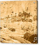 Hurricane, 1815 Acrylic Print by Science Source