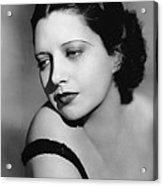 I Found Stella Parish, Kay Francis, 1935 Acrylic Print by Everett