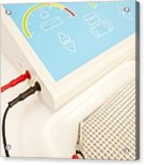 Iontophoresis Equipment Acrylic Print by