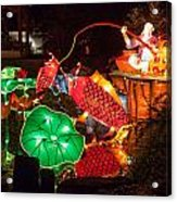 Jiang Tai Gong Fishing Acrylic Print by Semmick Photo