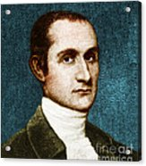 John Jay, American Founding Father Acrylic Print by Photo Researchers