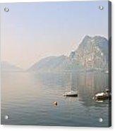 Lago Di Lugano Acrylic Print by Joana Kruse
