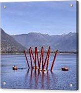 Lake Maggiore Locarno Acrylic Print by Joana Kruse