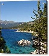 Lake Tahoe Shoreline Acrylic Print by Scott McGuire