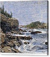 Maine: Mount Desert Island Acrylic Print by Granger