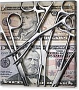 Medical Costs Acrylic Print by Tek Image