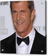 Mel Gibson In Attendance For 25th Acrylic Print by Everett