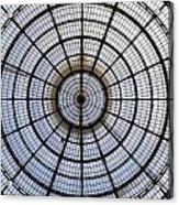 Milan Galleria Vittorio Emanuele II Acrylic Print by Joana Kruse