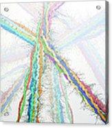 Molecular Collisions Acrylic Print by Eric Heller
